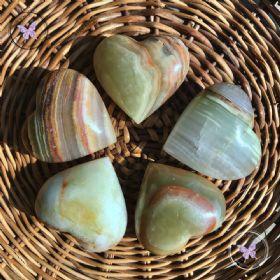 Onyx Crystal Heart